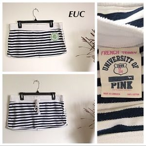 PINK Victoria's Secret Vintage Mini Skirt L EUC